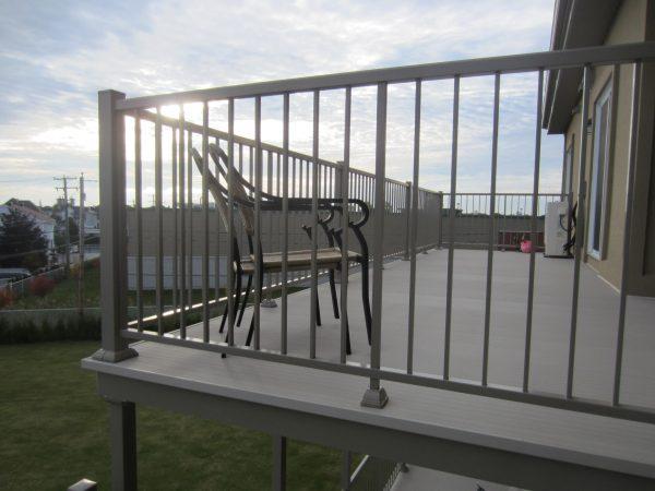 Balcon plancher Alu Floors scandinavia terrace