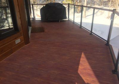 Plancher terasse en aluminium Alu Floors Scandinavia