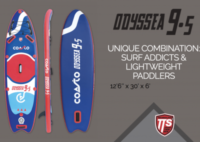 Stand up paddle ODYSS 9.5