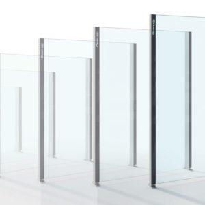 Paravent fixe en verre  Alu Floors Scandinavia