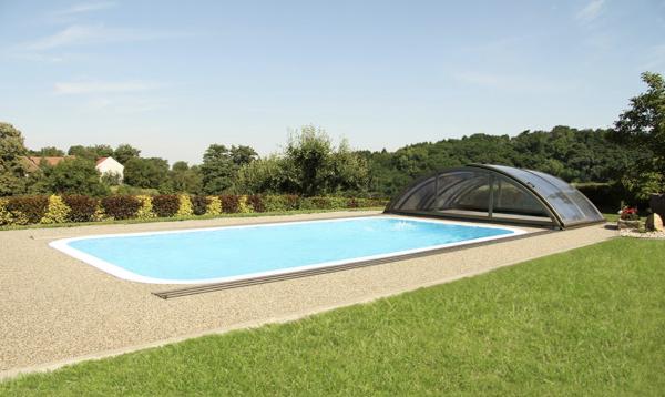 Abris piscine Klasik Clear