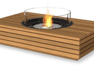 Martini 50 Table de cheminée ecosmart